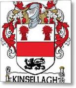 Kinsellagh Coat Of Arms II Irish Metal Print