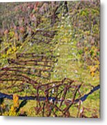 Kinzua Bridge Collapse Metal Print