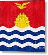Kiribati Flag Metal Print