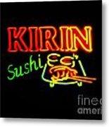 Kirin Sushi 2 Metal Print