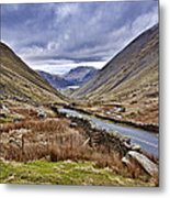 Kirkstone Pass View Metal Print
