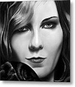 Kirsten Dunst Metal Print