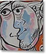 Kiss For Mom Metal Print