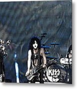 Kiss Metal Print