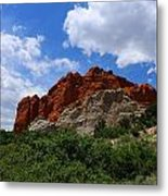 Kissing Camels - Garden Of The Gods Metal Print