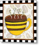 Kitchen Cuisine Hot Cuppa No14 By Romi And Megan Metal Print
