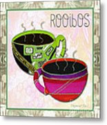 Kitchen Cuisine Rooibos Tea Party By Romi And Megan Metal Print