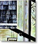 Kitchen Door At Alice Brock's Metal Print