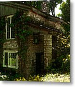 Kitchen Entrance To The Lodge At The Clearing In Door County Wisconsin Metal Print
