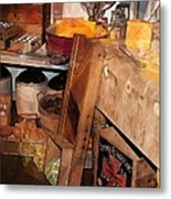 Kitchen - Food - Meat - Cheese - Eggs Metal Print