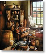Kitchen - Nothing Like Home Cooking Metal Print by Mike Savad