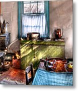 Kitchen - Old Fashioned Kitchen Metal Print