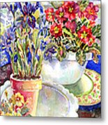 Kitchen Primrose Metal Print