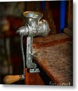 Kitchen - The Meat Grinder Metal Print