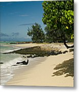 Kite Beach Kanaha Beach Maui Hawaii Metal Print