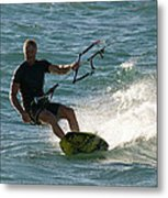 Kite Surfer 05 Metal Print