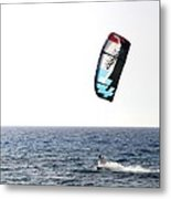 Kiteboarding Metal Print