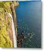 Kitl Rock Waterfall Metal Print