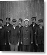Kitty Hawk Crew, 1900 Metal Print