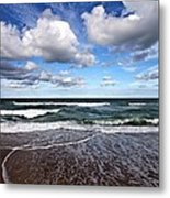 Kitty Hawk Surf Metal Print