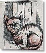 Kitty Sly Metal Print