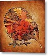 Kiwi Bird Metal Print