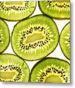 Kiwi Fruit IIi Metal Print