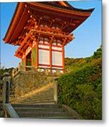 Kiyomizudera Temple Metal Print