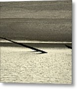 Klamath River Mouth - A Bliss Place Metal Print