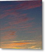 Klamath Summer Sunset Metal Print