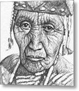 Klamath Woman Metal Print