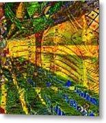 Klimt Covetous Metal Print