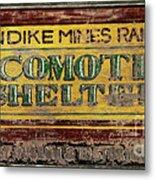 Klondike Mines Railway Metal Print