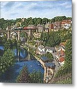 Knaresborough Yorkshire Metal Print