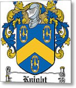 Knight Coat Of Arms Dublin Metal Print