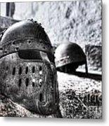 Knight Helmet Metal Print