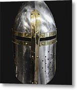 Knight In Shining Armor Metal Print