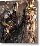 Knight Of Obligation Metal Print