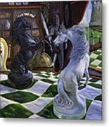 Knight's Magic Metal Print by Jeanne Newton Schoborg