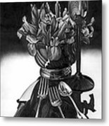 Knives And Forks Metal Print