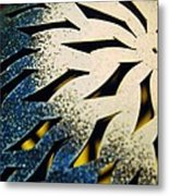 Knob Metal Print