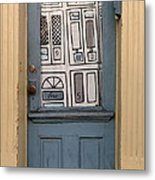 Knock Twice And Ask For Betty Metal Print