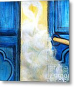 Knocking On Heavens Door Metal Print