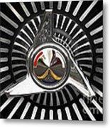 Knockoff Wheel Metal Print