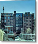 Knoxville Upscale Apartment Building Metal Print
