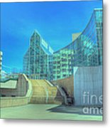 Knoxvillle Tn Convention Center Metal Print