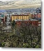 Kobe Garden Seattle Metal Print by Steve Leach