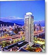 Kobe Japan Metal Print by Sean Pavone