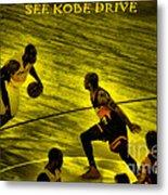 Kobe Lakers Metal Print