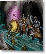 Kobold Entry Cavern Metal Print
